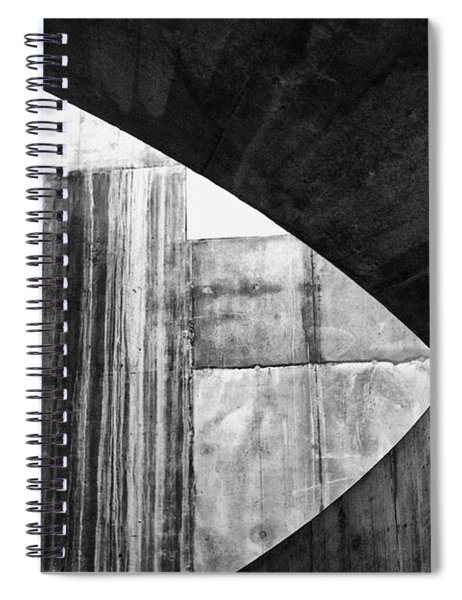 Stone Circle Meets Square Spiral Notebook