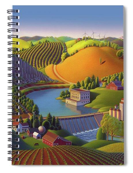 Stone City West Spiral Notebook