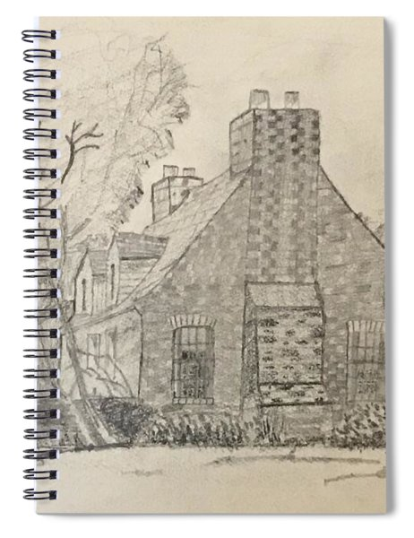 Stone Cottage Spiral Notebook