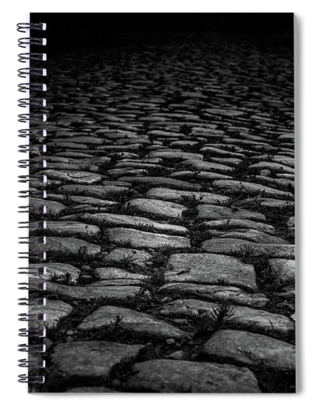 Spiral Notebook featuring the photograph Stone Path by Doug Camara