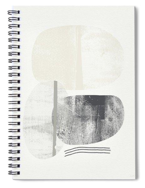 Stones 2- Art By Linda Woods Spiral Notebook by Linda Woods