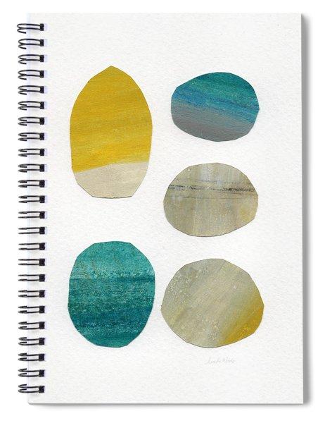 Stones- Abstract Art Spiral Notebook