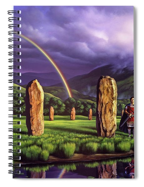 Stones Of Years Spiral Notebook