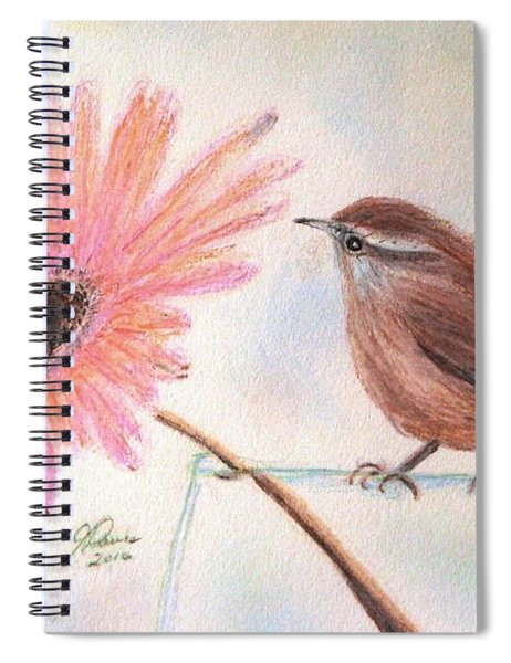 Stopping By To Say Hello Spiral Notebook