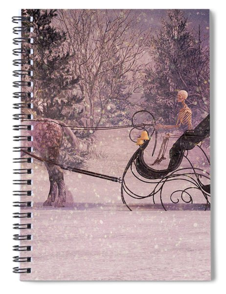 Stopping By Woods Spiral Notebook