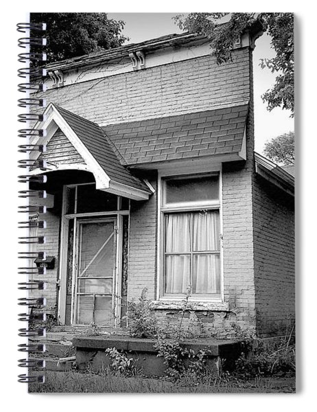 Store Front Home Spiral Notebook