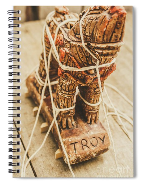 Stories From Ancient Troy Spiral Notebook