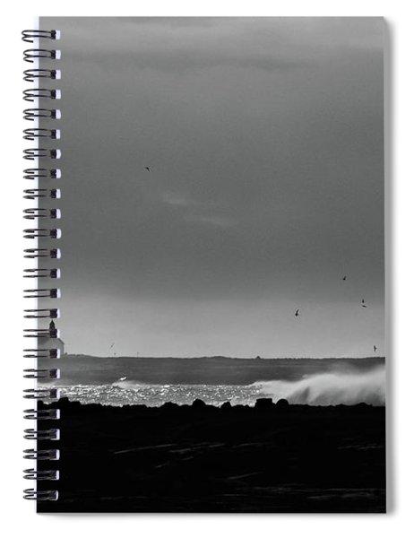 Storm Brewing Spiral Notebook