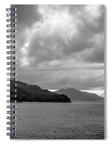 Storm On The Isle Of Skye, Scotland Spiral Notebook