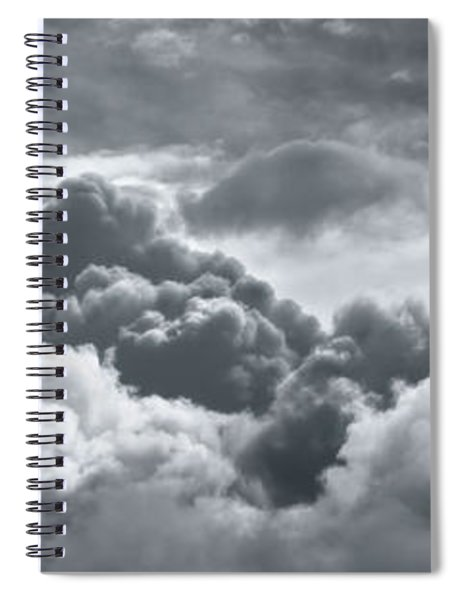 Storm Clouds Over Sheboygan Spiral Notebook