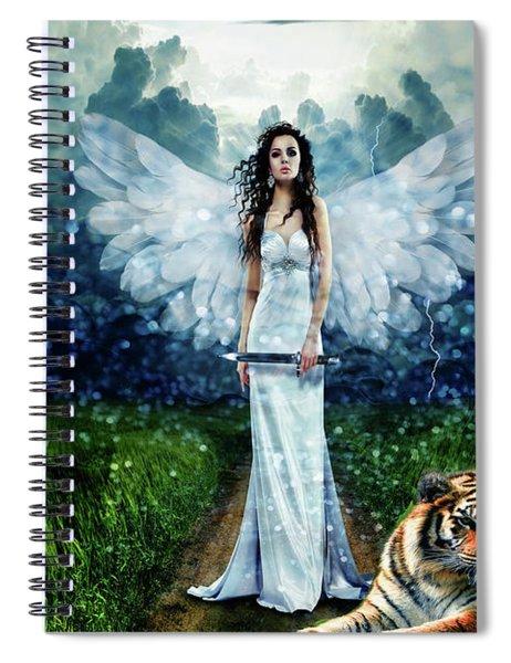 Storm Maiden Spiral Notebook