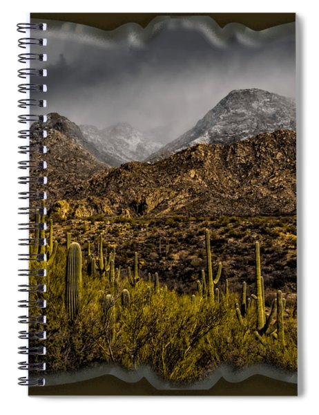 Storm Over Catalinas 15 Spiral Notebook