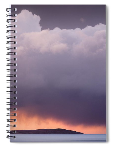 Storm Over Gruinard Bay Spiral Notebook
