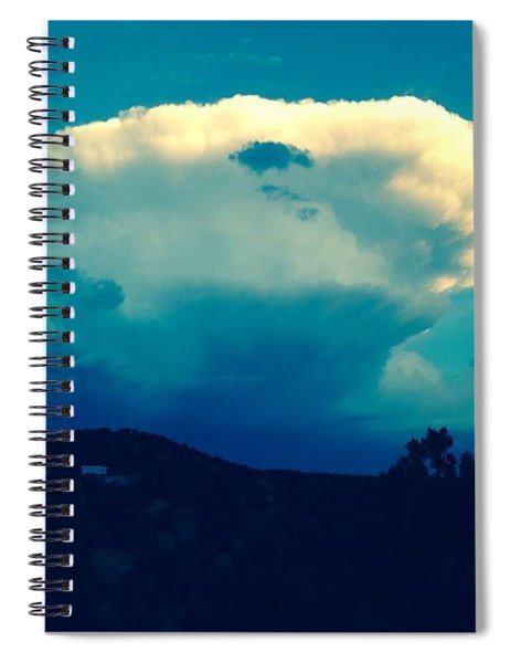 Storm Over Santa Fe Spiral Notebook