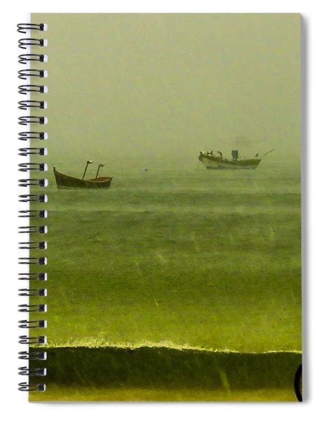 Storm Rider Spiral Notebook
