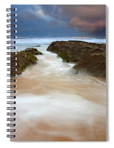 Storm Shadow Spiral Notebook