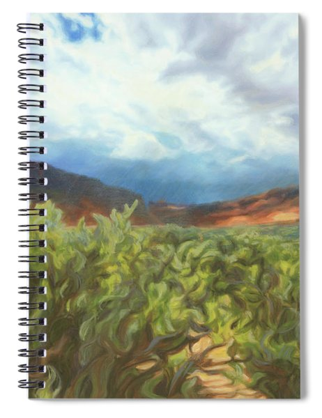 Storm The Castle Gates Spiral Notebook