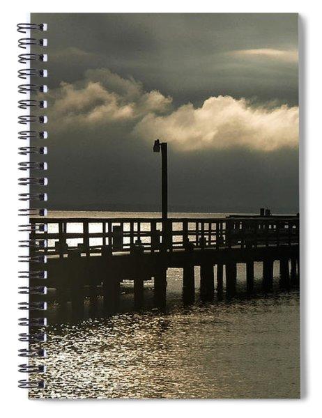 Storms Brewin' Spiral Notebook