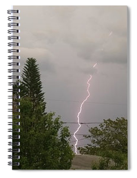 Storms Rolling In Spiral Notebook