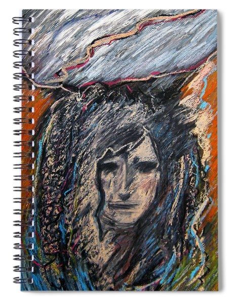Stormy Day Spiral Notebook