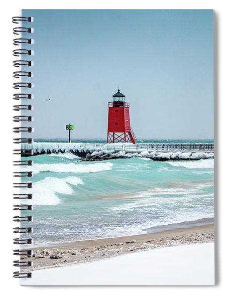 Stormy Lake Spiral Notebook