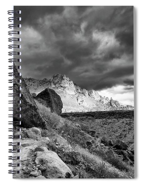 Stormy Misery Ridge  Spiral Notebook