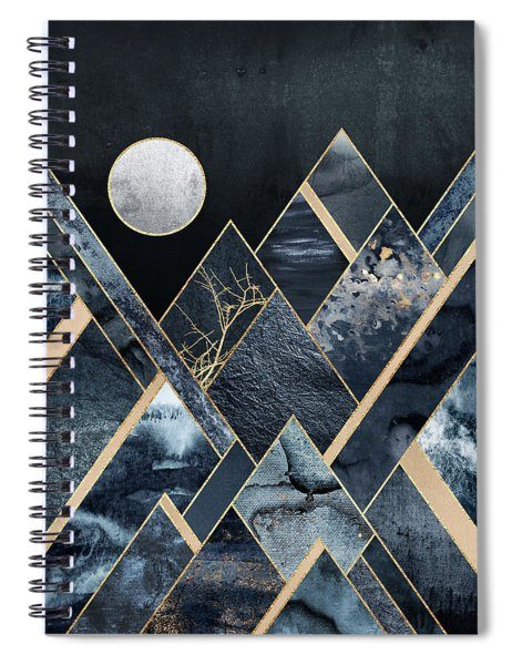 Stormy Mountains Spiral Notebook