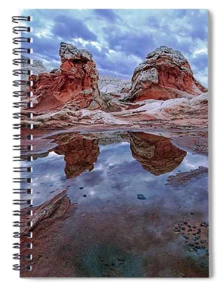 Stormy Reflection Spiral Notebook