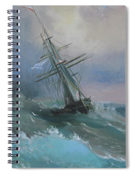 Stormy Sails Spiral Notebook
