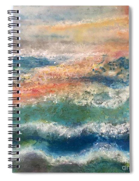 Laguna Sunset Spiral Notebook