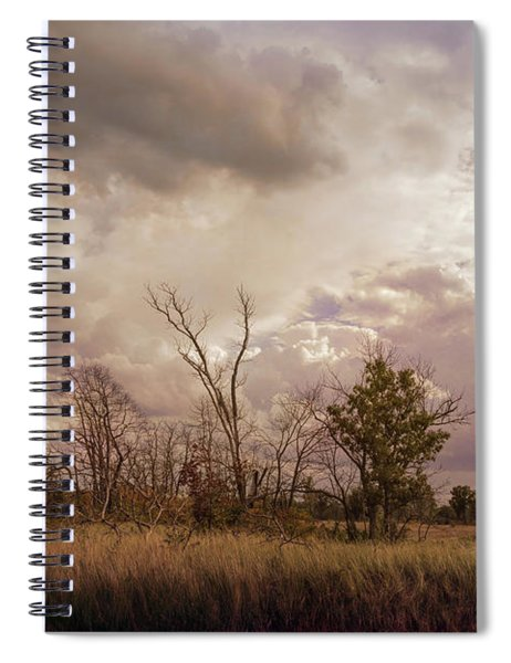 Stormy Skies Over Indiana Dunes Spiral Notebook