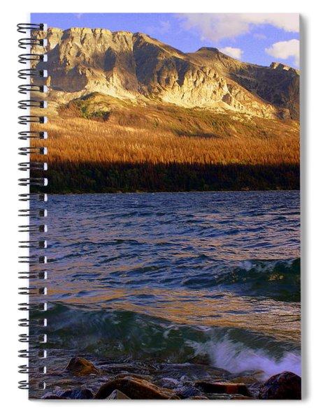 Stormy St Marys Spiral Notebook