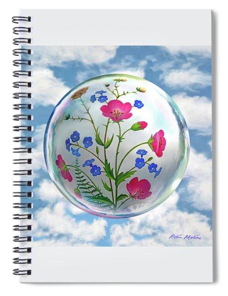 Storybook Ending Spiral Notebook