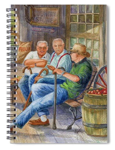 Storyteller Friends Spiral Notebook