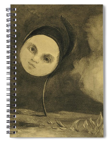 Strange Flower  Little Sister Of The Poor Spiral Notebook