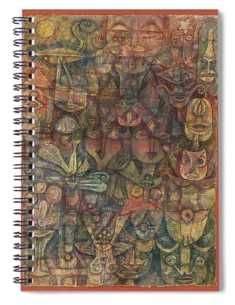 Strange Garden Spiral Notebook