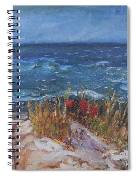 Strangers On The Shore Spiral Notebook
