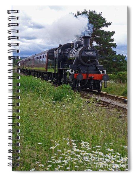 Strathspey Railway - Ivatt 2-6-0 46512 Spiral Notebook