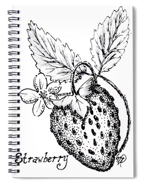 Strawberry Dreams Spiral Notebook