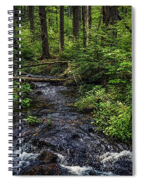 Streaming Spiral Notebook