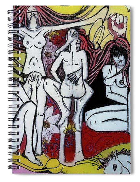 Street Art - Siena Italy Spiral Notebook