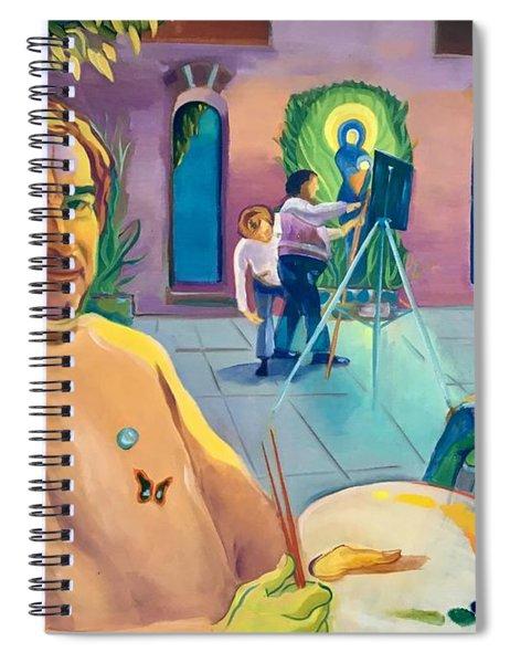 Street Artist Eric Fisherman's Wharf Spiral Notebook