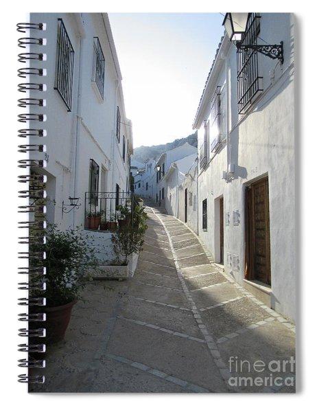 Street In Zuheros Spiral Notebook