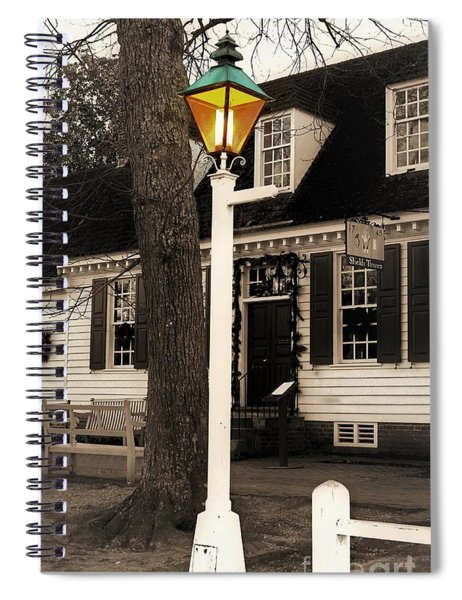 Street Lamp Spiral Notebook by Patti Whitten