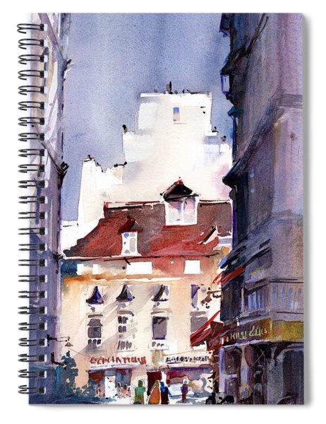 Parisian Stroll Spiral Notebook