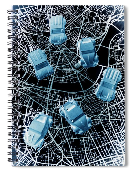 Street Racers Gps Spiral Notebook