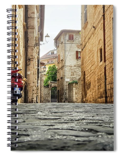 Streets Of Italy Spiral Notebook