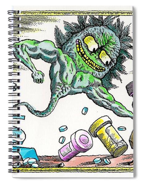 Strength Of The Virus Spiral Notebook