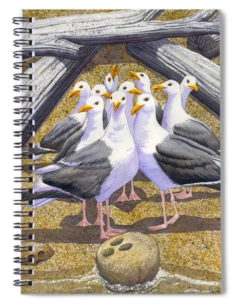 Strike Spiral Notebook