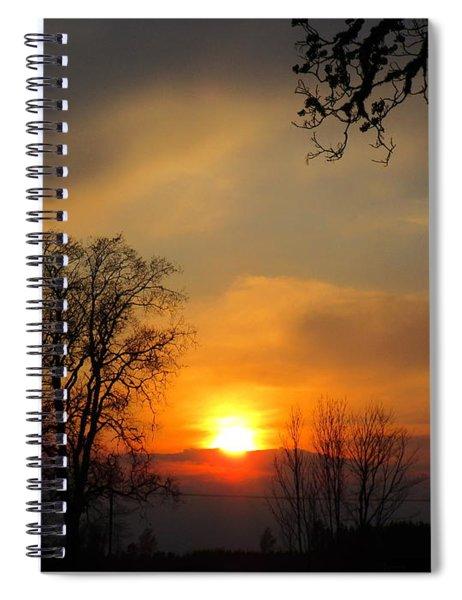 Striking Beauty Spiral Notebook